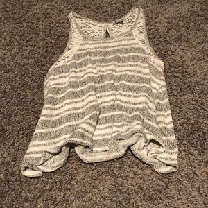 Charlotte Russe knit tank top